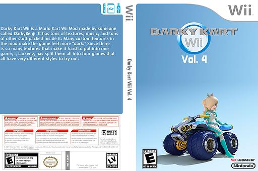 Darky Kart Wii Vol. 4 CUSTOM cover (DKWE04)