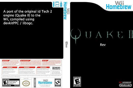 Q2rev Homebrew cover (DQ2A)