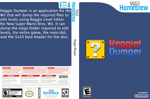 Reggie Dumper Homebrew cover (DRGA)