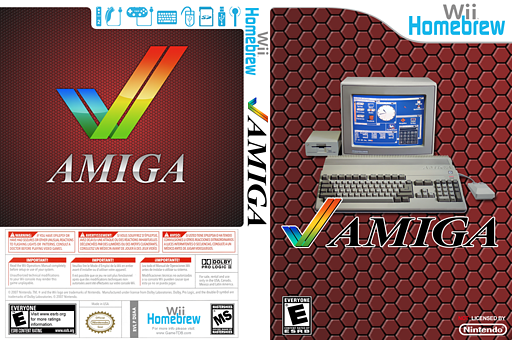 UAE Wii Homebrew cover (DUAA)
