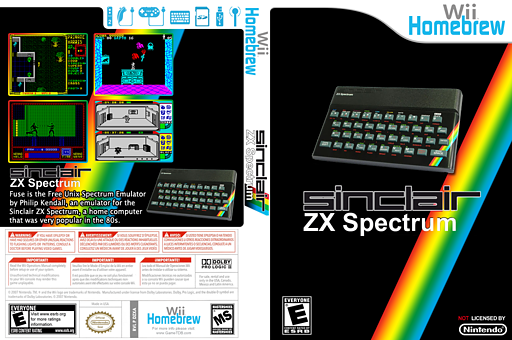 FBZX Wii Homebrew cover (DZXA)