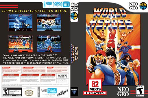 World Heroes VC-NEOGEO cover (EABE)