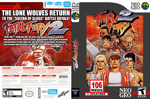 Fatal Fury 2 VC-NEOGEO cover (EANE)