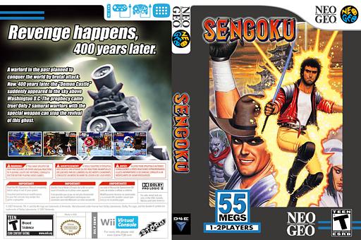 Sengoku VC-NEOGEO cover (EBWE)