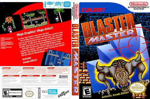 Blaster Master VC-NES cover (FFME)