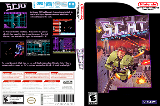 S.C.A.T. VC-NES cover (FFVE)