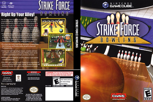 Strike Force Bowling GameCube cover (G5BE4Z)