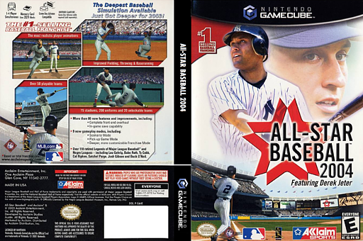 All-Star Baseball 2004 GameCube cover (GA4E51)