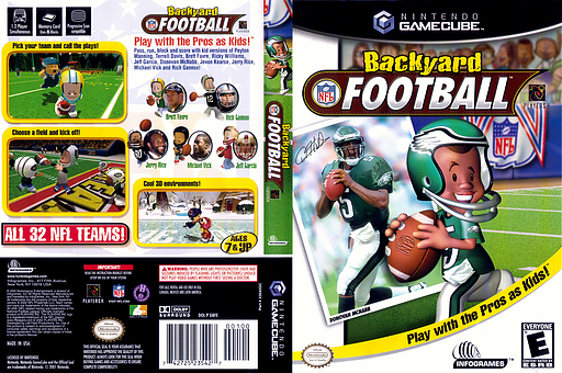backyard football gamecube cover gbfe70