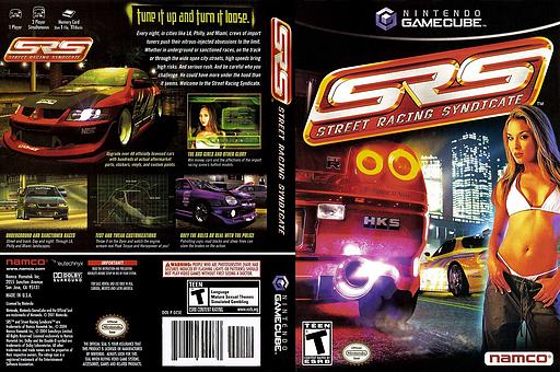 Street Racing Syndicate GameCube cover (GCSEAF)