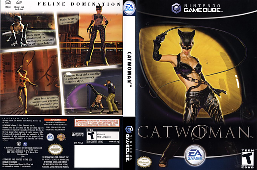 Catwoman GameCube cover (GCZE69)