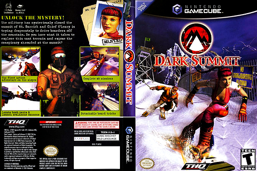 Dark Summit GameCube cover (GDSE78)