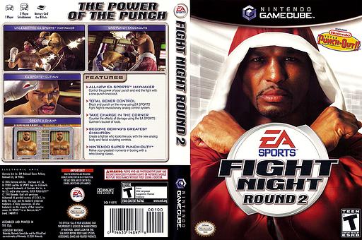 Fight Night Round 2 GameCube cover (GEYE69)