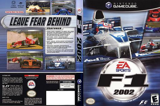 F1 2002 GameCube cover (GF2E69)