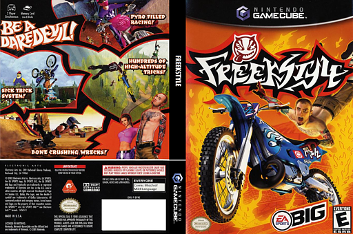 Freekstyle GameCube cover (GFKE69)