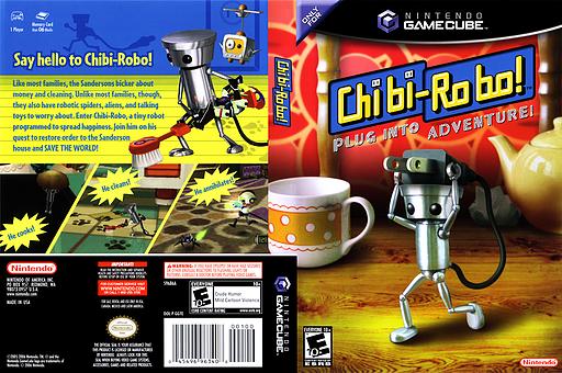 Chibi-Robo! GameCube cover (GGTE01)
