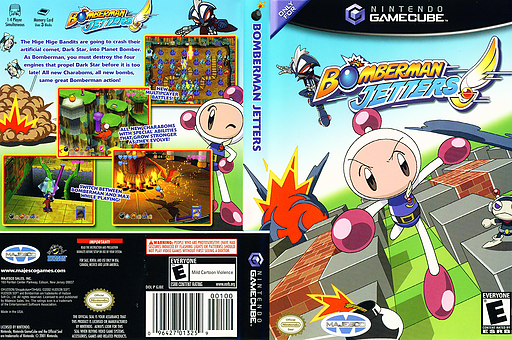 Bomberman Jetters GameCube cover (GJBE18)