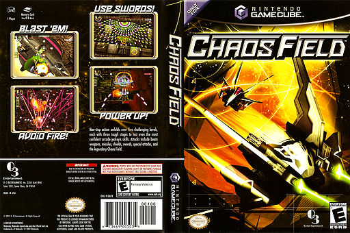 Chaos Field GameCube cover (GKFEGG)