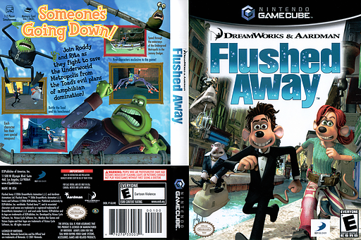 Flushed Away GameCube cover (GLHEG9)