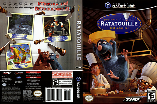 Ratatouille GameCube cover (GLLE78)