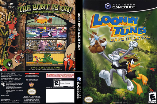 Looney Tunes: Back in Action GameCube cover (GLNE69)