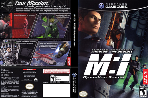 Mission Impossible: Operation Surma GameCube cover (GMIE70)