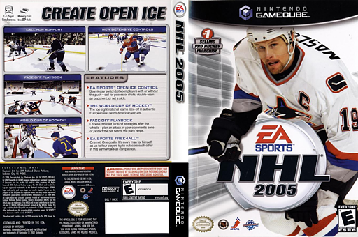 NHL 2005 GameCube cover (GN5E69)