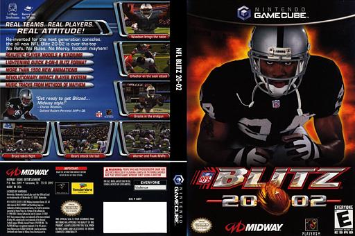 NFL Blitz 2002 GameCube cover (GNFE5D)