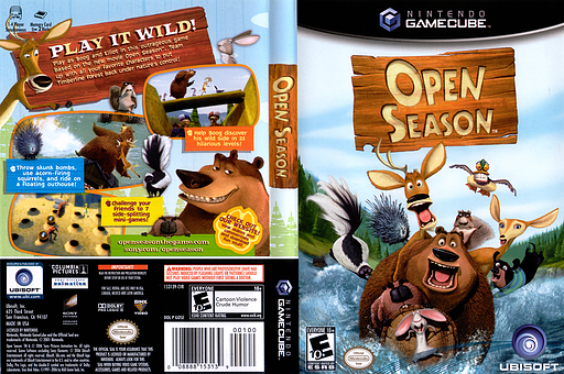 Open Season GameCube cover (GOSE41)