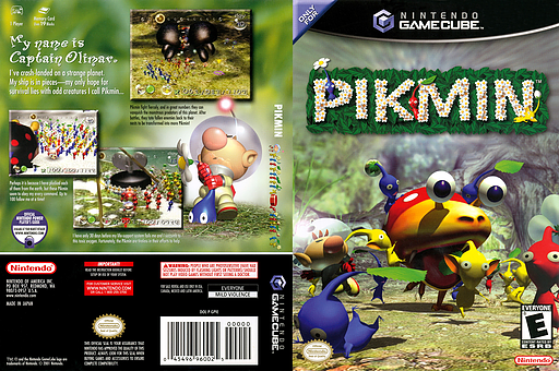 Pikmin GameCube cover (GPIE01)