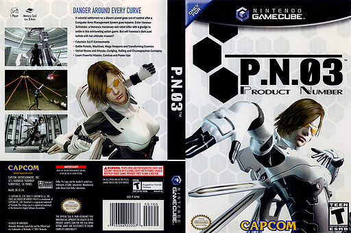 P.N.03 GameCube cover (GPNE08)