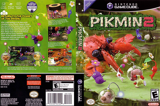 Pikmin 2 GameCube cover (GPVE01)