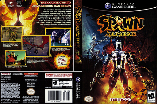 Spawn: Armageddon GameCube cover (GPWEAF)