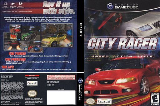 City Racer GameCube cover (GRQE41)