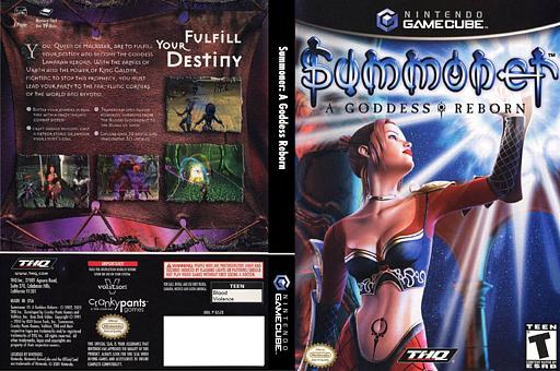 Summoner: A Goddess Reborn GameCube cover (GS2E78)