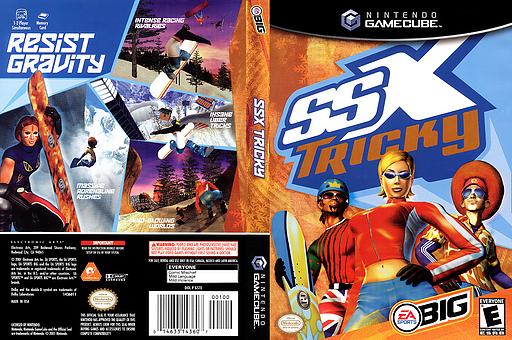 SSX Tricky GameCube cover (GSTE69)