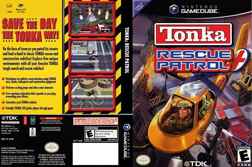 Tonka: Rescue Patrol GameCube cover (GTQE6S)