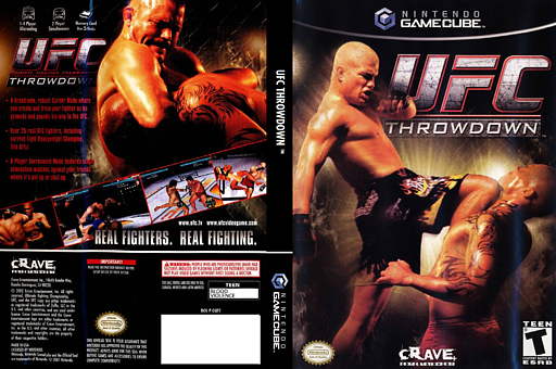 Ultimate Fighting Championship Throwdown GameCube cover (GUFE4Z)