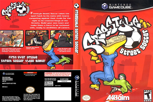 Freestyle Street Soccer GameCube cover (GUVE51)