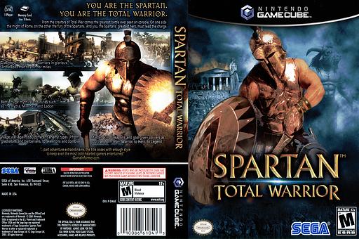 Spartan Total Warrior GameCube cover (GWAE8P)