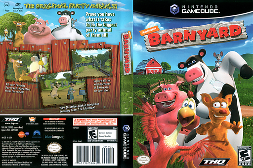 Barnyard GameCube cover (GYAE78)