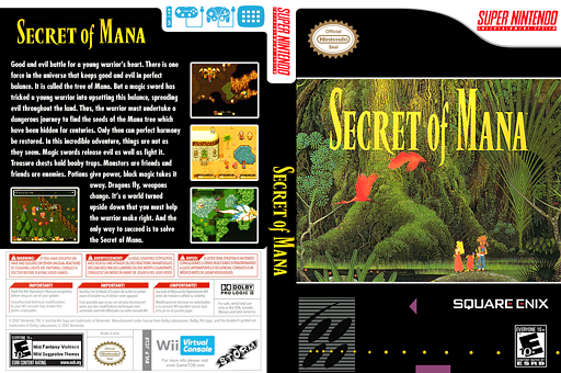 Secret of Mana VC-SNES cover (JCLE)