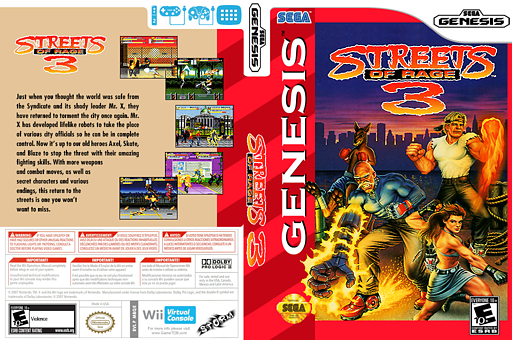 Streets of Rage 3 VC-MD cover (MBQE)