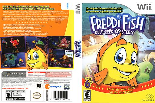Freddi Fish: Kelp Seed Mystery Wii cover (R2FE5G)