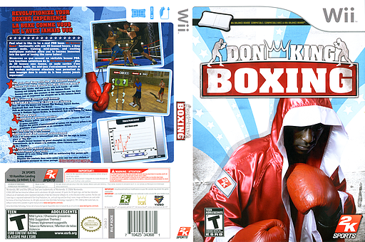 Don King Boxing Wii cover (R2KE54)