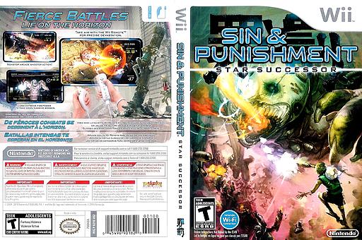 Sin & Punishment: Star Successor Wii cover (R2VE01)