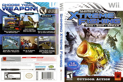 Shimano Xtreme Fishing Wii cover (R39EFP)
