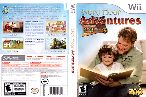 Story Hour: Adventures Wii cover (R3AE20)