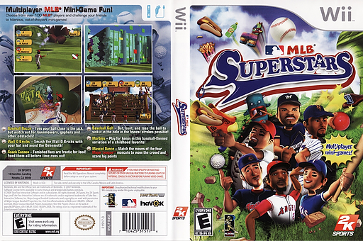 MLB Superstars Wii cover (R4SE54)