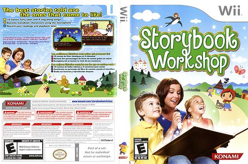 Storybook Workshop Wii cover (R4VEA4)